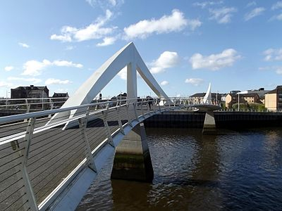 Tradeston Pedestrian Bridge, the