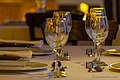 Glasses at hotel restaurant - panoramio.jpg
