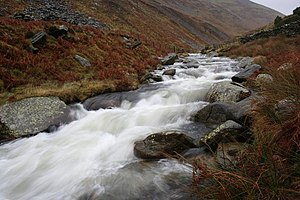 Glenderaterra Beck - Glenderaterra Beck near the Blencathra Field Centre