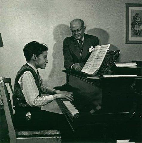 Glenn Gould and Alberto Guerrero