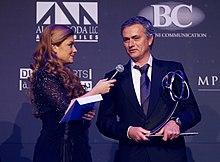 Mourinho premiato come miglior allenatore dell'anno ai Globe Soccer Awards 2012