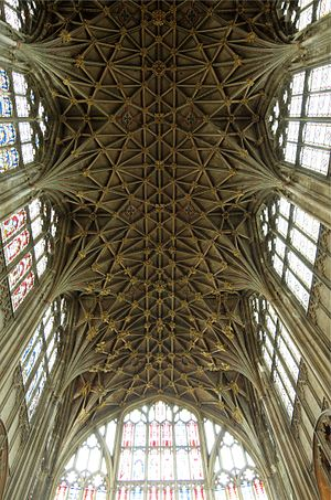 Gloucester Cathedral - Gloucester Cathedral Vaulted Ceiling
