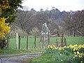 Glynllifon Standing Stone. - geograph.org.uk - 1277016.jpg