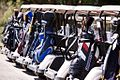 Golf buggies at St Lucia Golf Links (7041054337).jpg
