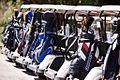Golf buggies at St Lucia Golf Links (7041054337).jpg