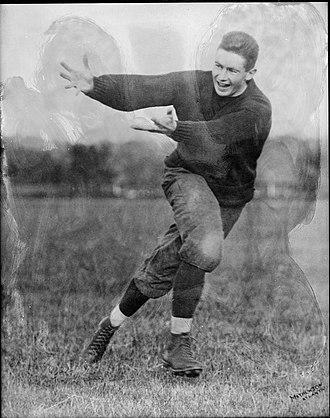 Virginia Cavaliers football - Robert Kent Gooch in 1914