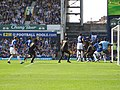 Goodison Park the view from the paddock. - panoramio.jpg