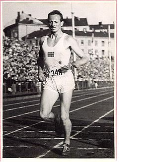 Godtfred Holmvang - 1946 European Championships, Oslo, Norway