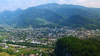 Götzis Place in Vorarlberg, Austria