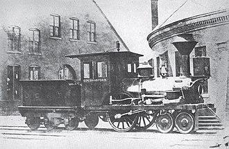 Old Colony Railroad - Image: Gov Bradford loco OCRR