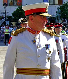 Governor Sir Robert Fulton - Inspection (cropped).jpg
