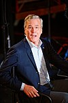 Governor of Florida Jeb Bush, Announcement Tour and Town Hall, Adams Opera House, Derry, New Hampshire by Michael Vadon 22.jpg