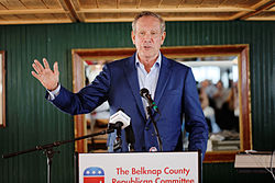 Governor of New York George Pataki at Belknap County Republican LINCOLN DAY FIRST-IN-THE-NATION PRESIDENTIAL SUNSET DINNER CRUISE, Weirs Beach, New Hampshire May 2015 by Michael Vadon 19