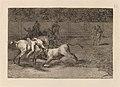 Goya - Mariano Ceballos, alias el Indio, mata el toro desde su caballo.jpg