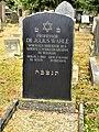 Grab von Dr. Julius Wahle, Neuer Jüdischer Friedhof Dresden.JPG