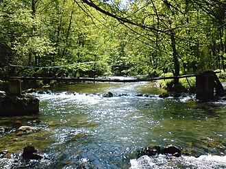 Gradac (river) - Image: Gradac river bridge