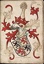Graeue Hollant - Graaf van Holland - Count of Holland - Wapenboek Nassau-Vianden - KB 1900 A 016, folium 22r.jpg