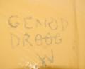 Graffito 'ieithyddol' (cywiro camsillafiad oedd yn fwriadol).png