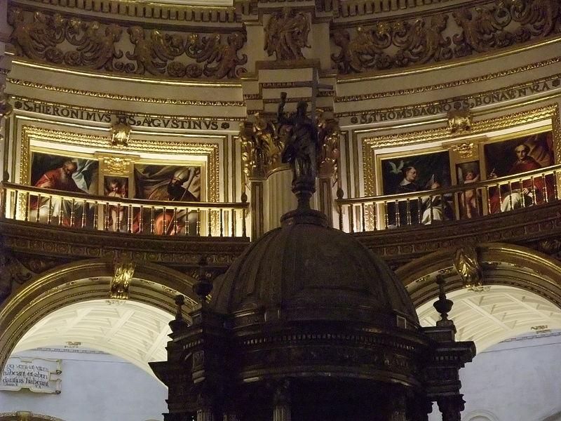 Granada-Catedral de la Encarnación-9-Capilla Mayor-Tabernáculo.JPG