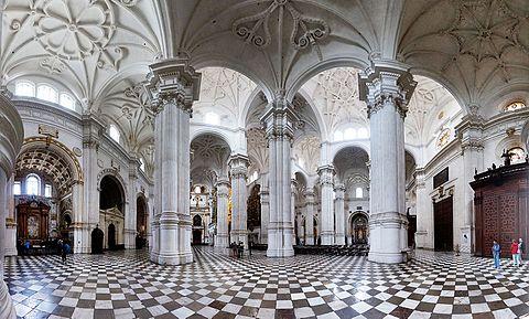 Granada cathedral pano