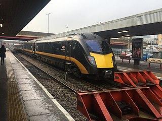 Bradford Interchange Railway station in West Yorkshire, England