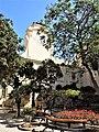 Grandmaster's Palace, clock tower in courtyard.jpg