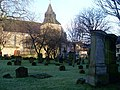Gravestones in cemetery by Main Street, Rutherglen - geograph.org.uk - 1138085.jpg
