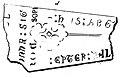 Gravstein i Nidarosdomen - (F) innr sig Rodar son. Epter Pál (1823) (9521457289).jpg