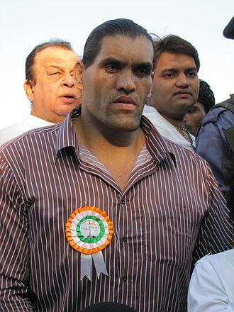 The Great Khali - Khali attending a Peace Rally in Mumbai in 2011