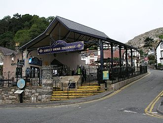 Great Orme Tramway - Image: Great Orme Tramway Victoria station
