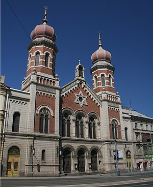 Plzeň - Great Synagogue in Pilsen