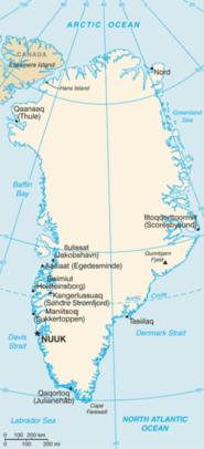 Groenlandia - Mappa