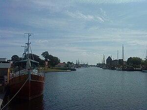 Ryck - Image: Greifswald Museumshafen