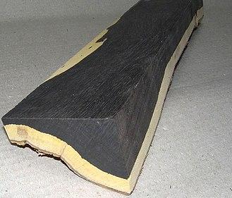 Dalbergia melanoxylon - Image: Grenadil African Blackwood