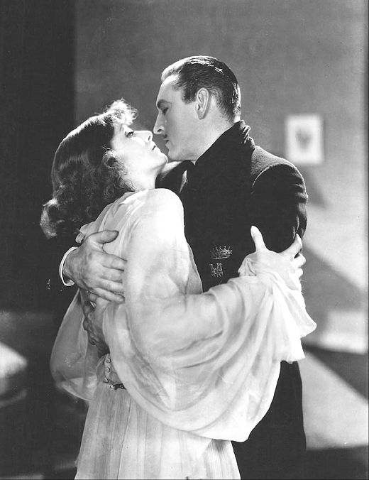 Greta Garbo en John Barrymore in Grand Hotel