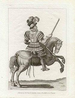 Grose-Francis-Yeomen-of-the-Guard-Attending-Queen-Elizabeth-1812