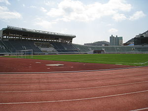 Football at the 1988 Summer Olympics - Image: Gudeok Stadium 3