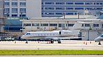 Gulfstream Aerospace G450 N167AD at Taipei Songshan Airport 20161217.jpg