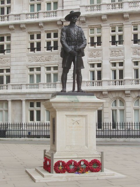 Gurkha Memorial, Horse Guards Avenue - geograph.org.uk - 379881