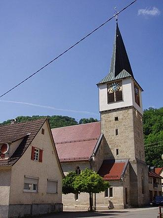 Lenningen - Image: Gutenberg Kirche