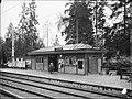 Höglandstorget, spårvagnshållplats, 1931.jpg