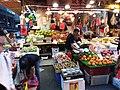 HK 灣仔 Wan Chai 寶靈頓道 Bowrington Road fresh vegetable n seafood wet outdoor old market August 2019 SSG 09.jpg