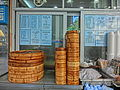 HK 灣仔 Wan Chai 春園街 Spring Garden Lane Dec-2013 bamboo streamers food restaurant.JPG