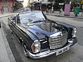 HK Sheung Wan Hollywood Road Benz in black Nov-2010 HK105 280 SE head.JPG