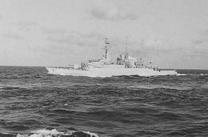HMS Avenger (F185) - En route to the Falklands with the Bristol Group
