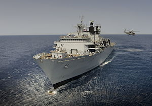 HMS Bulwark (L15) - Migrant rescue duty in the Mediterranean Sea, August 2014