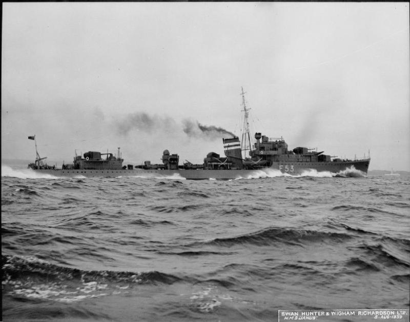 HMS Janus (F53) IWM FL 003695