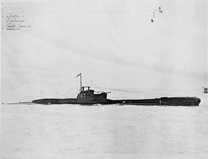 HMS Tribune (N76) - Image: HMS Tribune 2