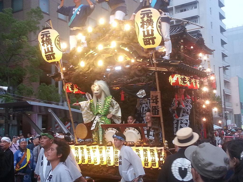 Hachioji-matsuri (Dashi-kamichiku-hachiman-otsujiawase) 5