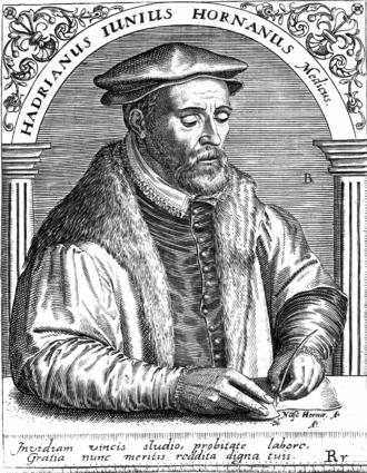 Hadrianus Junius - Hadrianus Junius, by Theodor de Bry